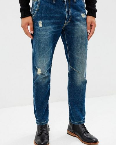 Синие джинсы Gaudi