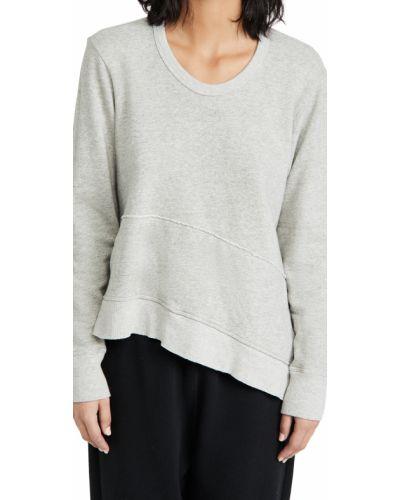 Асимметричный хлопковый пуловер с карманами Wilt