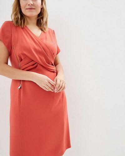 Вечернее платье коралловый красный Zar Style