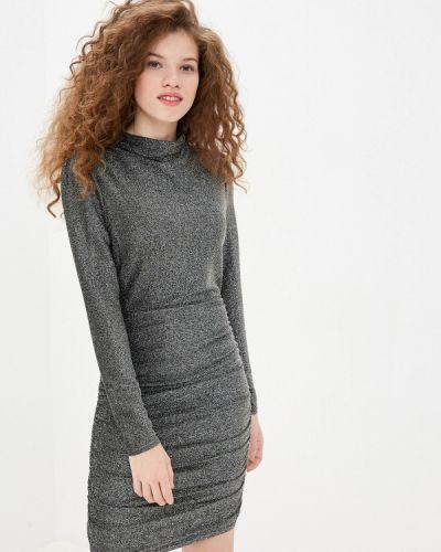 Серебряное вечернее платье Twist & Tango