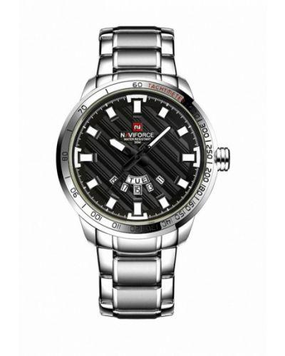 Часы серебряные серебряного цвета Naviforce