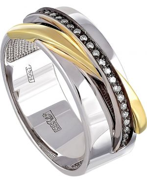 Кольцо из золота с бриллиантом Kabarovsky