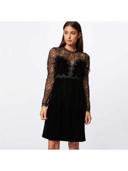 Платье мини с длинными рукавами расклешенное Morgan
