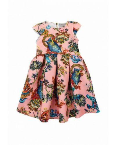 Повседневное розовое платье Kids Couture