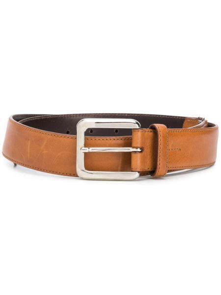 Кожаный коричневый ремень Gianfranco Ferre Pre-owned