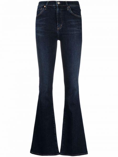 Синие джинсы стрейч на шпильке классические Citizens Of Humanity