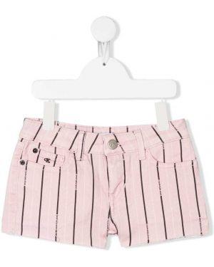 Шорты розовый синий Calvin Klein Kids