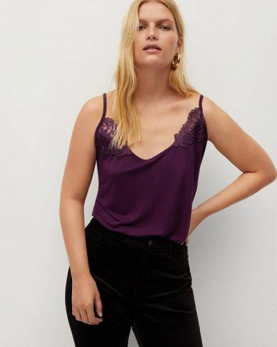 Топ - фиолетовый Violeta By Mango