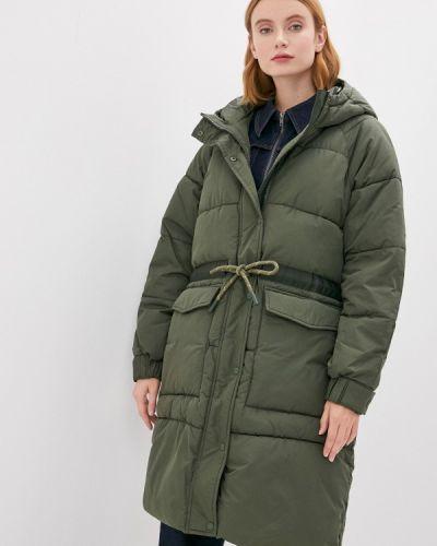Утепленная куртка - зеленая Mbym
