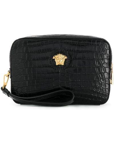 Клатч кожаный итальянский Versace
