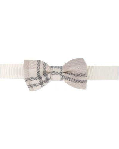 Ватный хлопковый белый галстук Le Bebé Enfant
