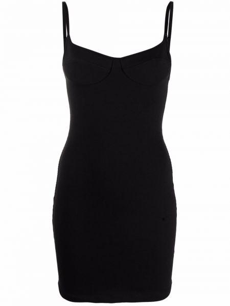 Хлопковое платье - черное Ck Calvin Klein