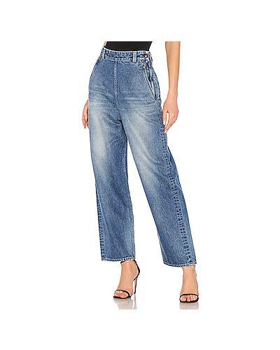 Широкие джинсы с накладными карманами Red Card