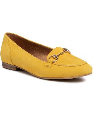 Lordsy zamszowe - żółte R.polański