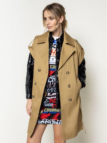 Płaszcz - brązowy Pinko
