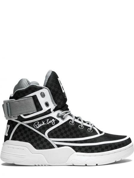 Черные кроссовки Ewing