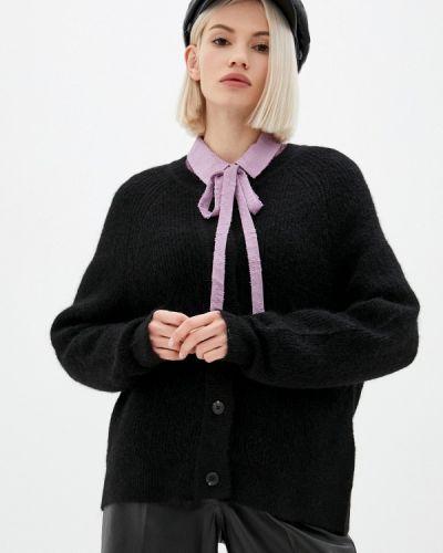 Черный кардиган осенний Selected Femme