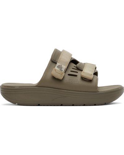 Sandały na rzepy - khaki Suicoke