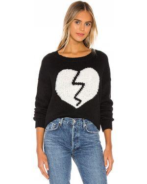 Sweter bawełniany - czarny Wildfox Couture