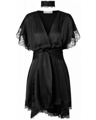 Czarna sukienka na lato Ravn