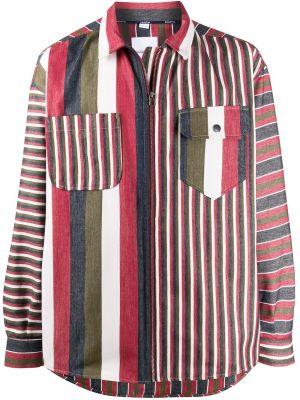 Koszula z długim rękawem klasyczna w paski Napa By Martine Rose