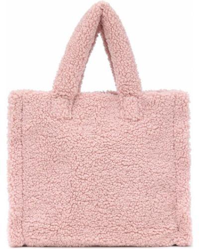 Różowy torba na ramię Stand Studio