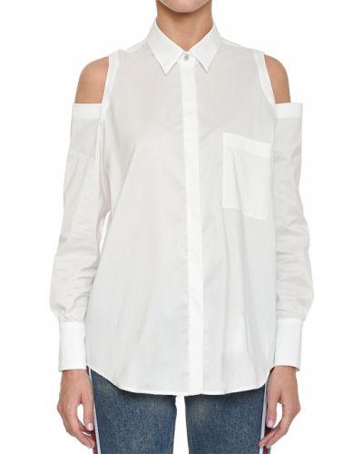 Рубашка белая Rene Lezard