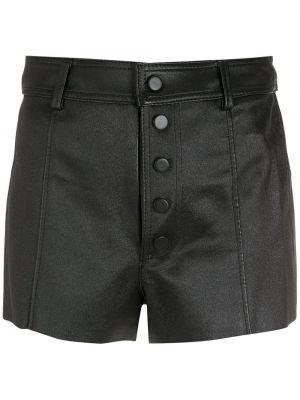 Черные шорты на пуговицах Nk