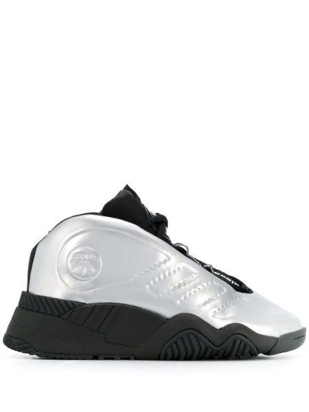 Серебряные кроссовки Adidas Originals By Alexander Wang