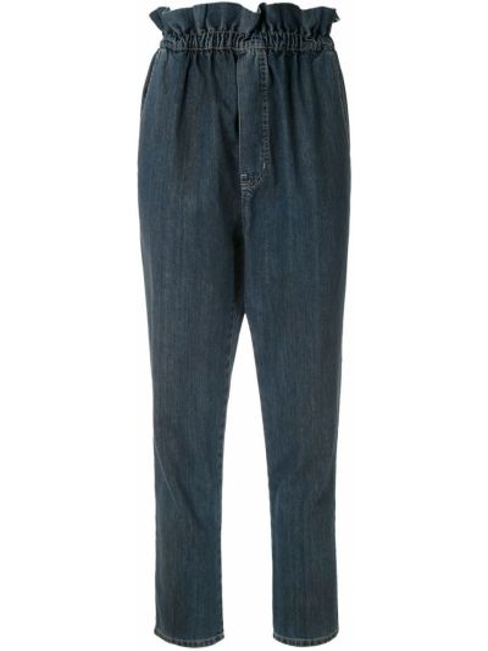 Укороченные джинсы с карманами в стиле бохо Framed