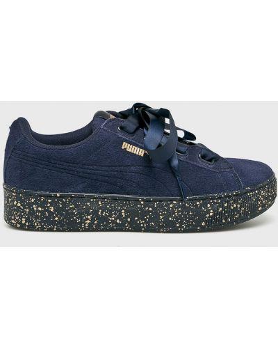 Кроссовки на платформе на шнуровке мягкие Puma