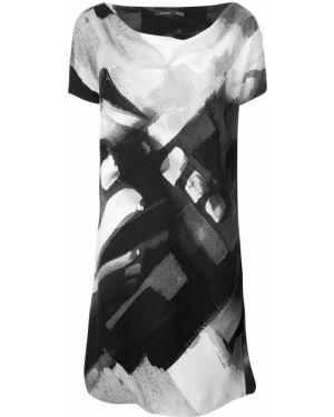 Платье мини миди с абстрактным принтом Natori