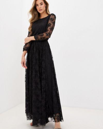 Вечернее черное вечернее платье Imperial