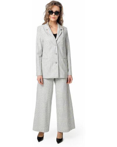 Хлопковый повседневный пиджак в полоску Dizzyway