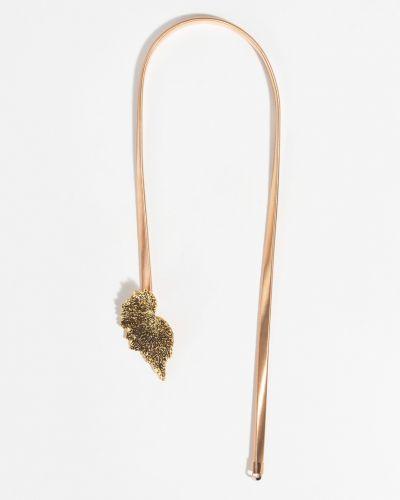 Ремень металлический золотой Parfois