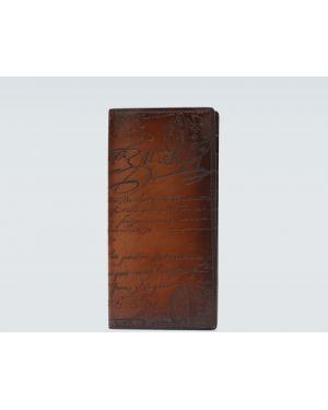 Кожаный кошелек - коричневый Berluti