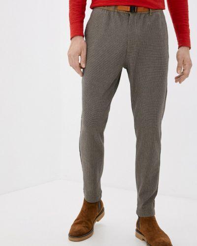 Повседневные коричневые брюки Qwentiny