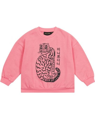 Хлопковый свитшот - розовый Mini Rodini