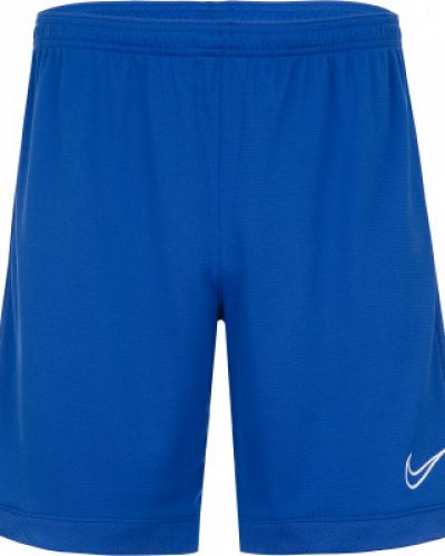 Спортивные шорты прямые синий Nike