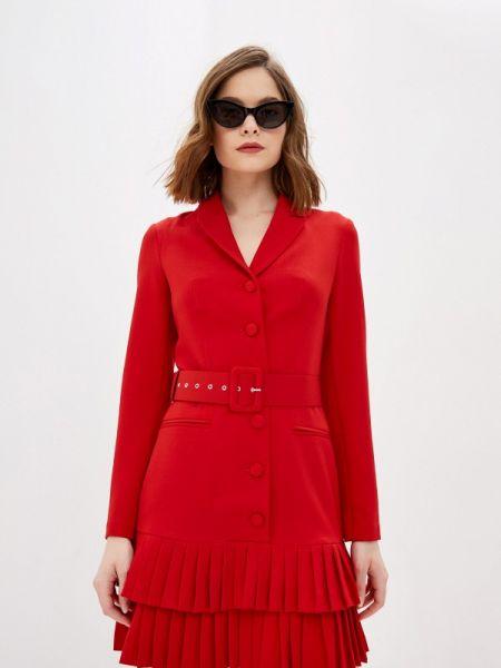 Платье платье-пиджак красный Self Made