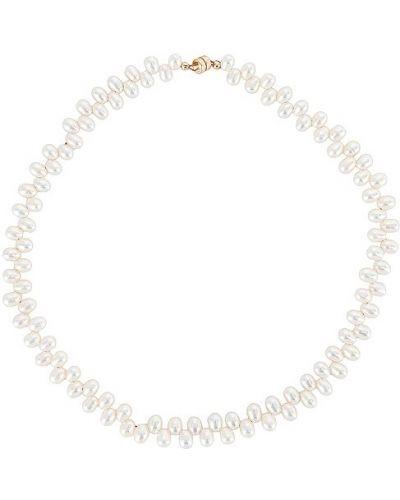 Biały naszyjnik z pereł Joolz By Martha Calvo