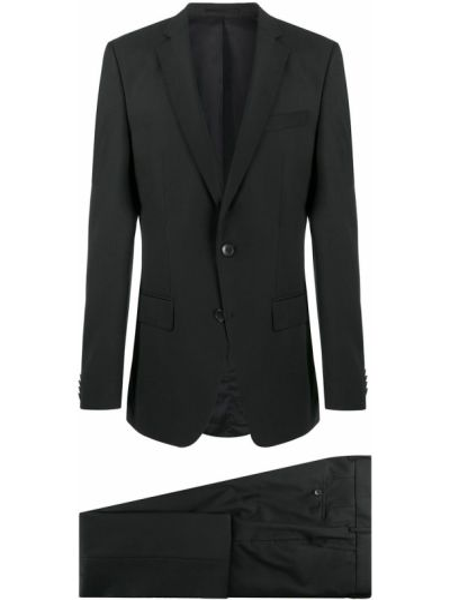 Klasyczny garnitur kostium wełniany Boss Hugo Boss