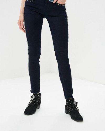 Синие джинсы-скинни Custo Barcelona