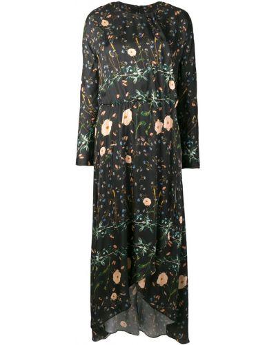 Асимметричное платье с вырезом эластичное Ailanto