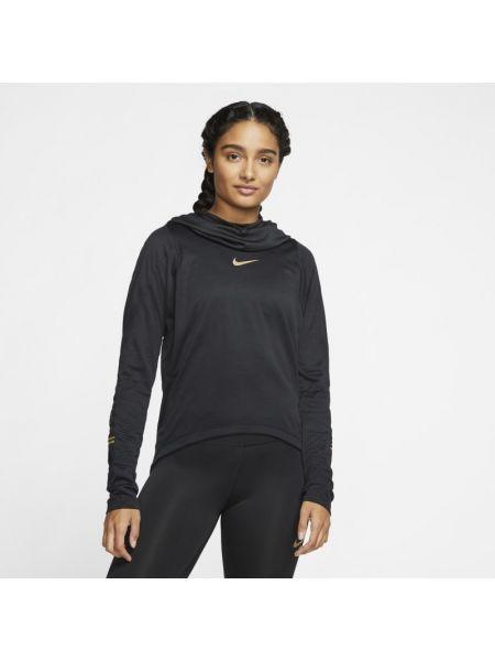 Ze sznurkiem do ściągania t-shirt z kapturem z kołnierzem Nike