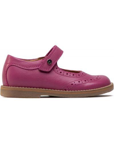 Туфли на липучках - розовые Froddo