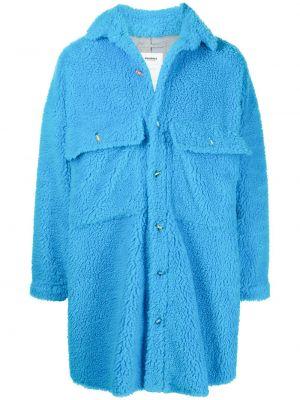 Niebieska koszula z długimi rękawami Doublet