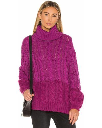 Базовый акриловый розовый свитер One Teaspoon