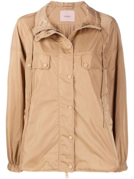 Куртка на пуговицах с карманами Twin-set