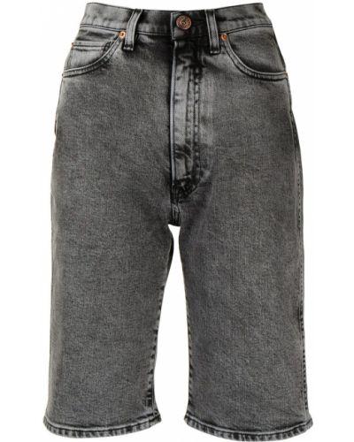 Серые джинсовые джинсовые шорты 3x1